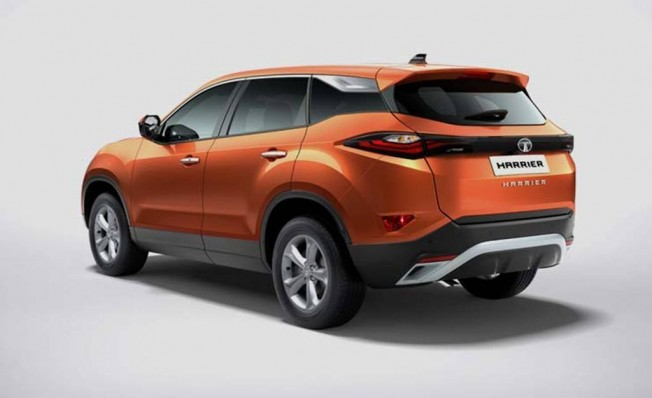 Tata Harrier - posterior