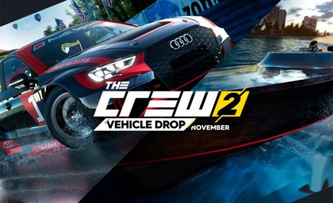 The Crew 2 - actualización de noviembre de 2018