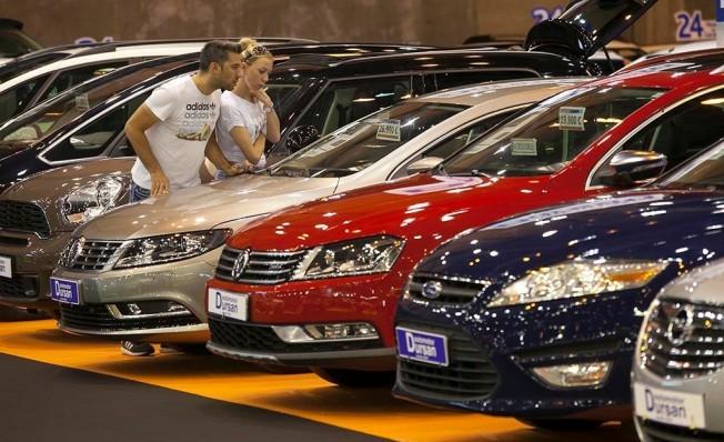 Ventas de coches de ocasión en España - Octubre 2018