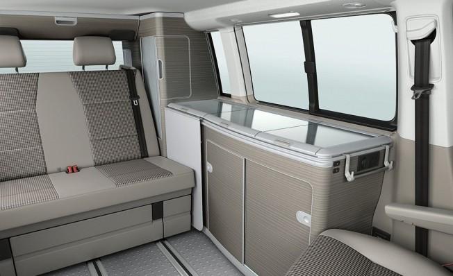 Volkswagen California 30 Aniversario - interior
