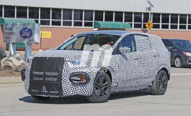 Ford SUV Eléctrico - foto espía