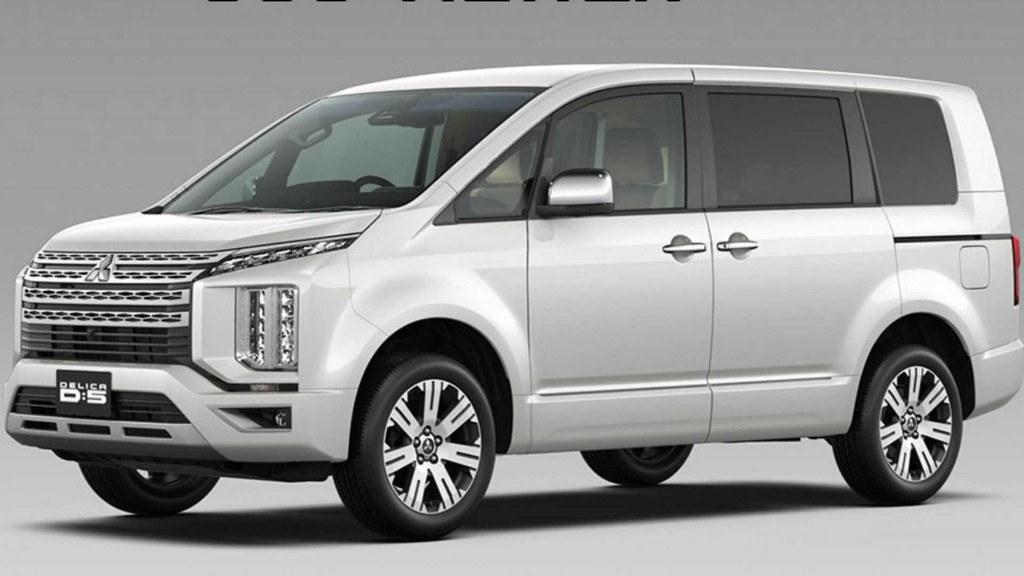 El nuevo Mitsubishi Delica es el perfecto mix entre un MPV y un SUV