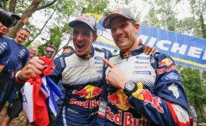 Sébastien Ogier suma y sigue en el WRC, ¡van seis!