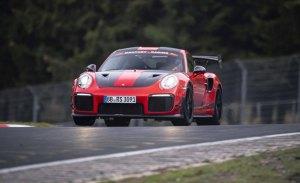El Porsche 911 GT2 RS MR cazarrécords sigue probando en Nürburgring