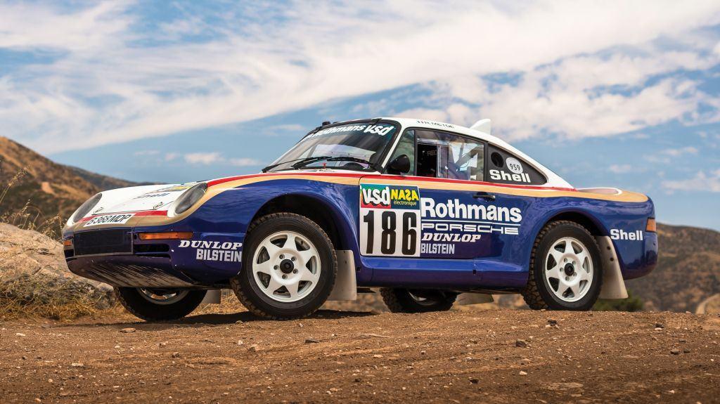 El Porsche 959 París-Dakar vendido por casi 6 millones de dólares