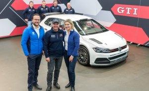 Volkswagen entrega el primer Polo GTI R5 a Baumschlager