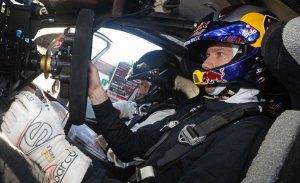 Sébastien Ogier se sube al Citroën C3 WRC en Portugal