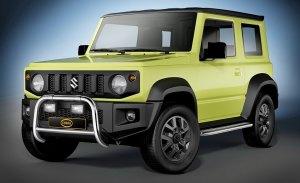 El nuevo Suzuki Jimny estrena accesorios gracias al especialista Cobra