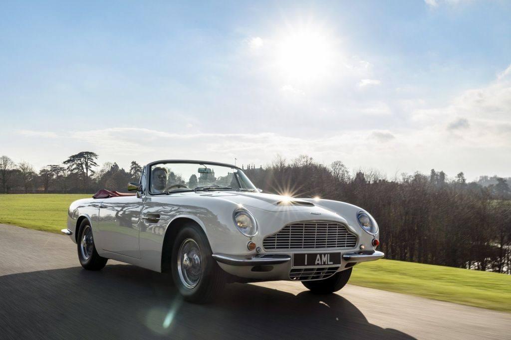 Aston Martin Works convierte tu Aston clásico en un coche eléctrico