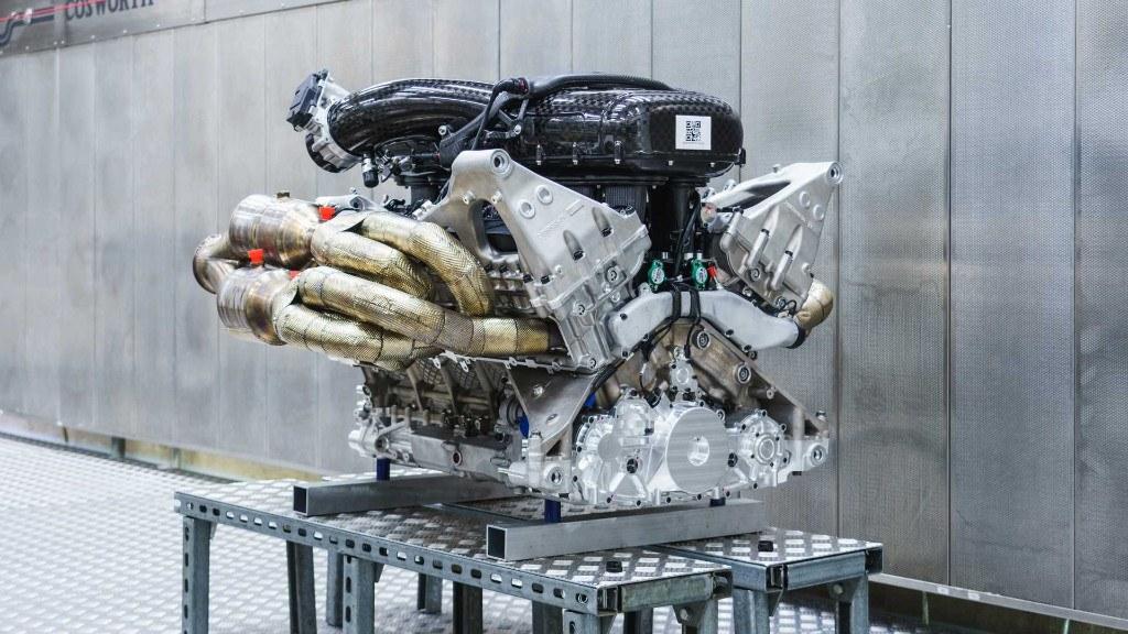 Aston Martin presenta el espectacular V12 Cosworth del Valkyrie