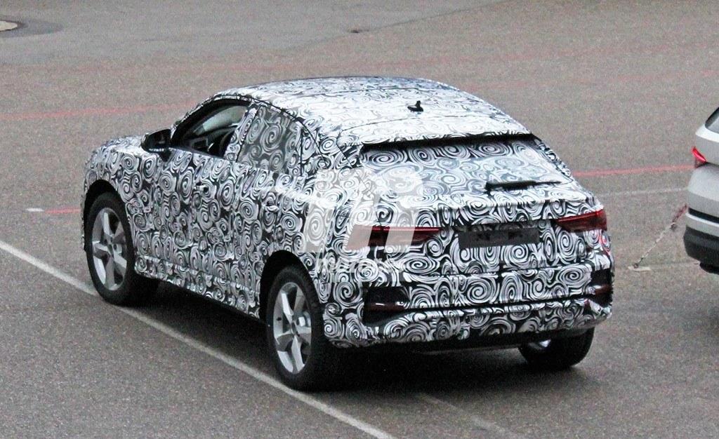 Nuevas fotos espía desvelan más detalles del nuevo Audi Q3 Sportback