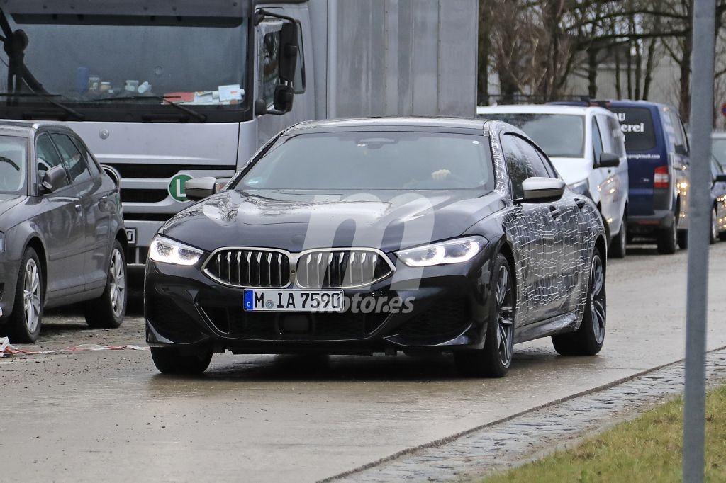 Nuevas fotos espía desvelan al nuevo BMW M850i Gran Coupé
