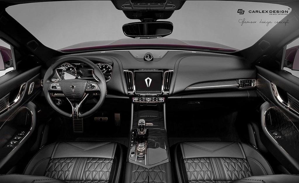 Carlex Design modifica por completo el interior del Maserati Levante