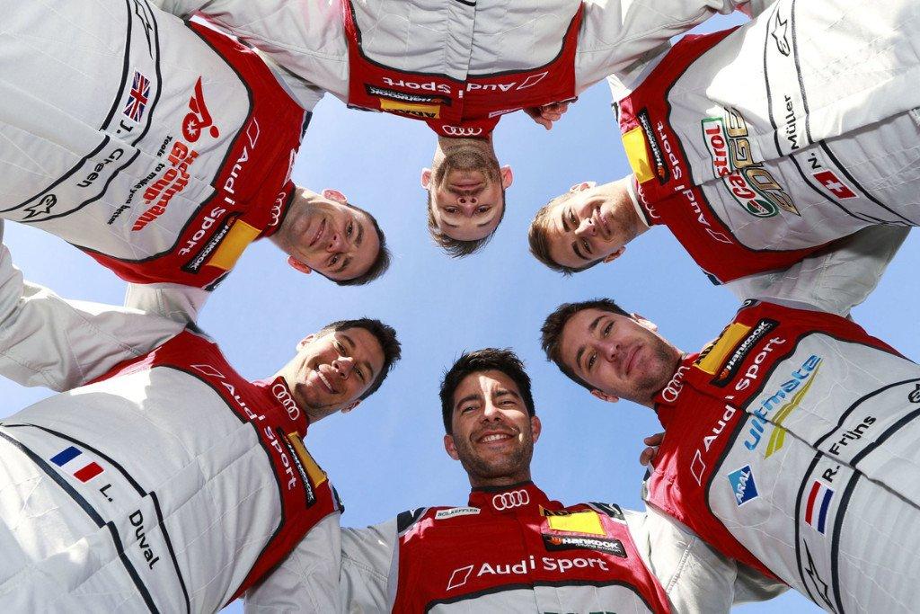 Audi mantiene a sus seis pilotos de cara al DTM 2019
