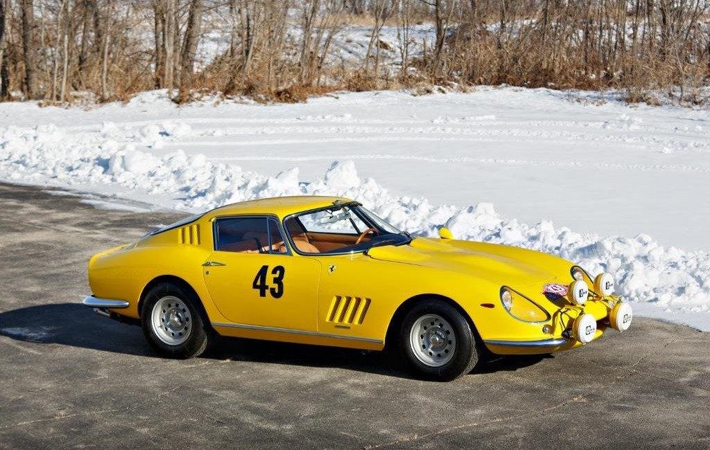 Los raros y veteranos Ferrari amarillos de competición: el 275 GTB Prototipo de Montecarlo '66