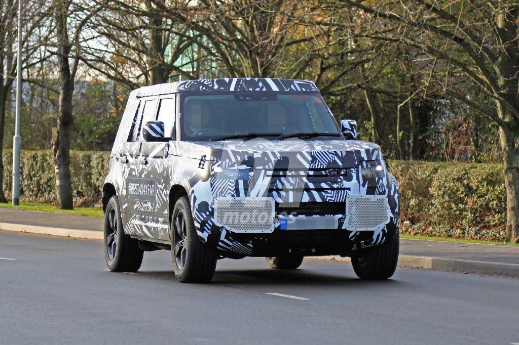 El nuevo Land Rover Defender 110 vuelve a dejarse ver en Reino Unido