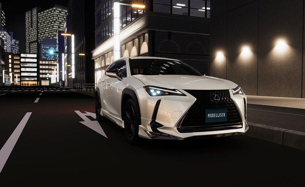 Modellista radicaliza al nuevo Lexus UX con un kit de carrocería