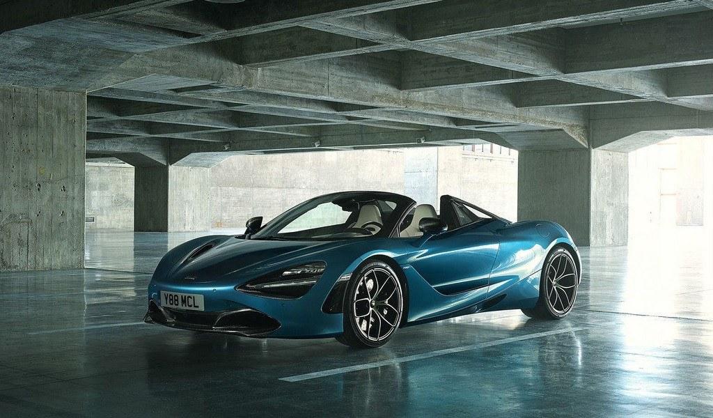 McLaren desvela el nuevo 720S Spider con techo electrocrómico