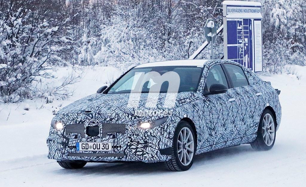 El desarrollo del nuevo Mercedes Clase C 2021 se traslada al norte de Europa
