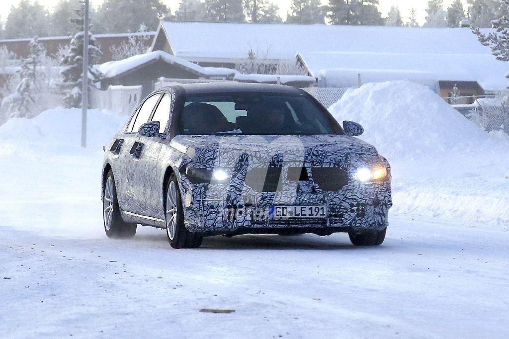 El nuevo Mercedes Clase S se enfrenta a la segunda tanda de pruebas de invierno