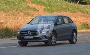 Mercedes continúa con la mula de ensayos del futuro eléctrico EQB