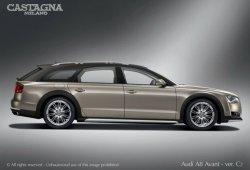El primer Audi A8 Avant Allroad W12 llega de la mano de Castagna Milano