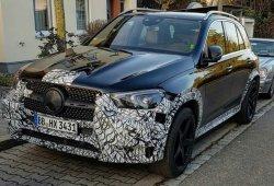 El nuevo Mercedes-AMG GLE 53 avistado por primera vez casi al desnudo