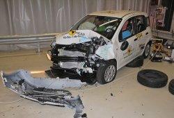 El Fiat Panda se estrella en las pruebas Euro NCAP y cosecha cero estrellas