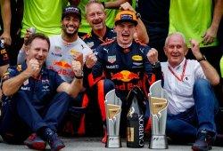 Horner cree que la evolución de Verstappen forzó la marcha de Ricciardo