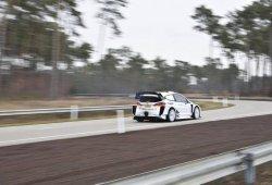 M-Sport evalúa en Bélgica la aerodinámica del Fiesta WRC