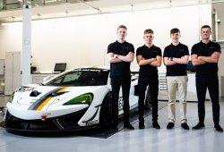 McLaren amplía su proyecto GT con tres jóvenes pilotos