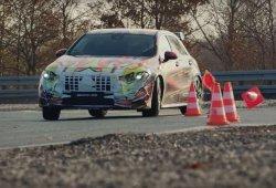El nuevo Mercedes-AMG A 45 nos enseña que sabe derrapar en este vídeo