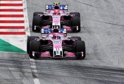 """Pérez: """"Ocon fue un poco mejor en clasificación, yo en carrera"""""""