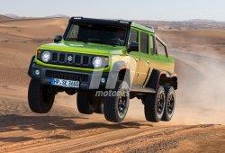 Exclusiva: ¡Que tiemble Mercedes! Suzuki lanzará un Jimny 6x6