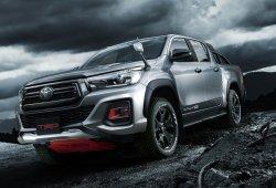 Toyota Hilux Black Rally Edition, el pick-up nipón se atiborra de componentes TRD