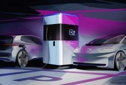 Volkswagen desvela su nueva estación de carga móvil para vehículos eléctricos