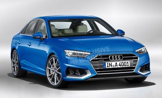 Recreación del Audi A4 2020