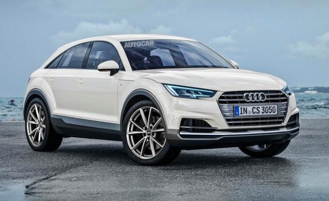 Recreación del Audi Q4