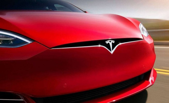 Tesla Model S - frontal
