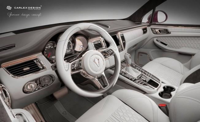 Porsche Macan modificado por Carlex Design