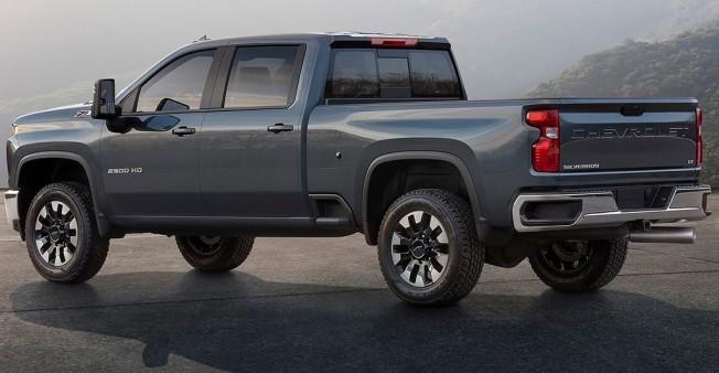 Chevrolet Silverado HD 2019 - posterior