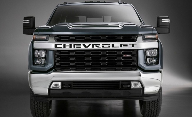 Chevrolet Silverado HD 2019 - frontal