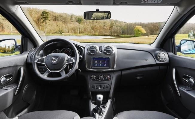 Dacia Logan MCV Stepway - interior