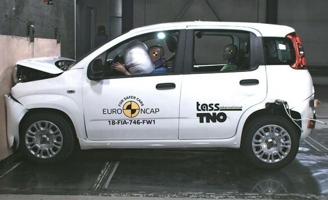 Fiat Panda en las pruebas Euro NCAP