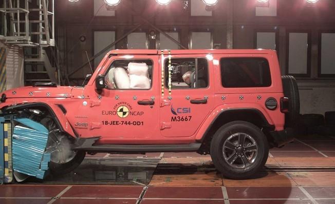 Jeep Wrangler - pruebas Euro NCAP