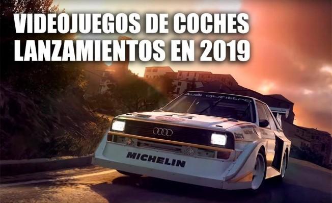 Lanzamientos de videojuegos de coches en 2019
