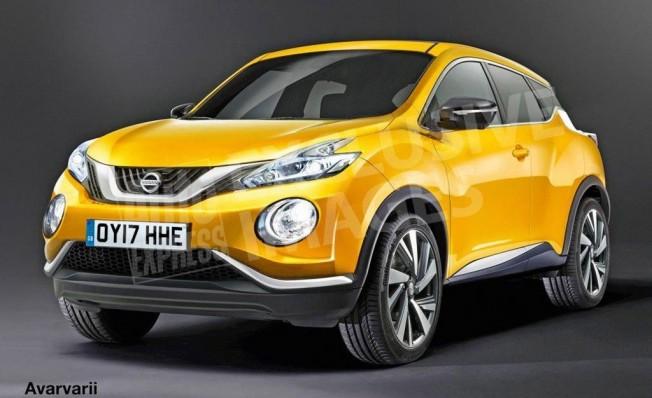 Nissan Juke 2020 - recreación
