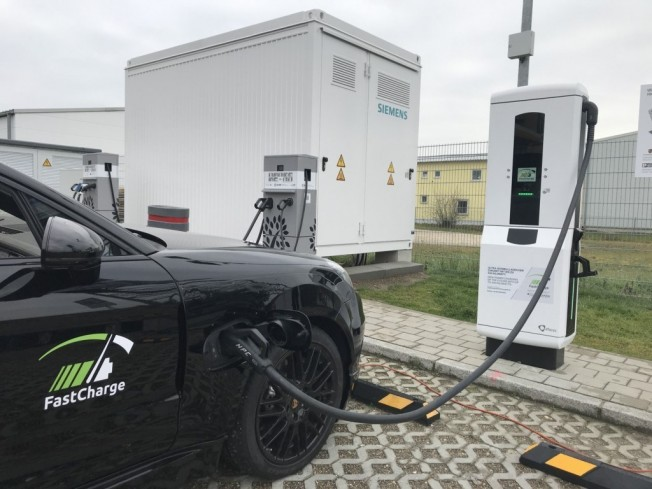 Porsche FastCharge fast chargers