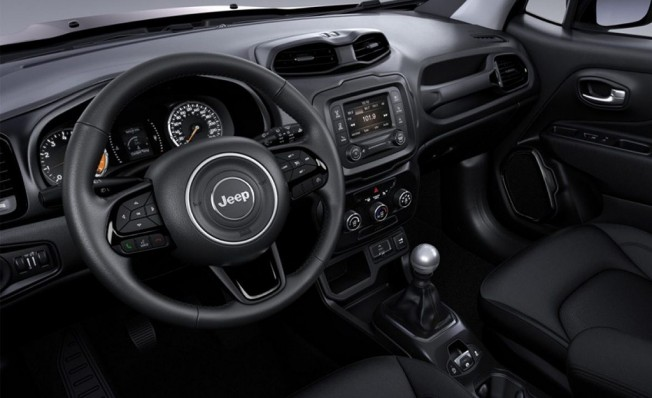 Jeep Renegade Night Eagle II - interior