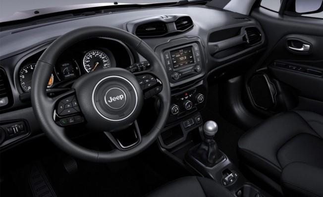 Jeep Renegade Night Eagle II - interior